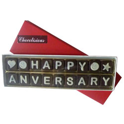 Breathtaking Happy Anniversary SMS Chocolates