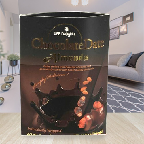Tempting Date-Almond Chocolate Delight