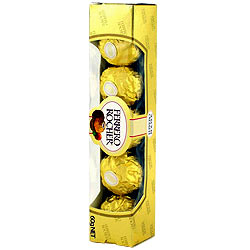 4 pcs Ferrero Rocher Chocolate Pack
