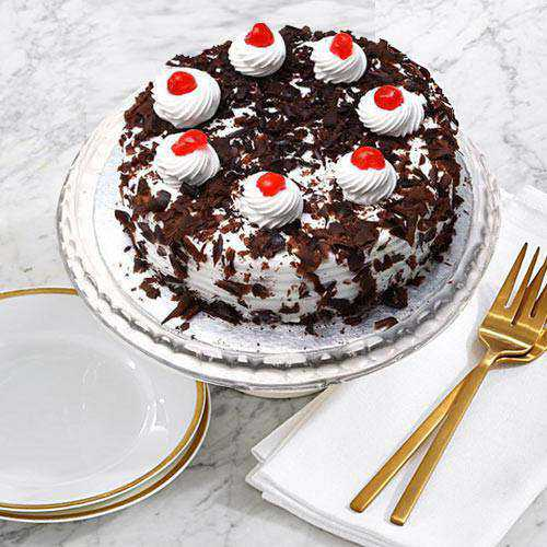 Sumptuous Black Forest Cake from Taj or 5 Star Bakery