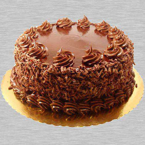 Bursting Eggless Chocolate Cake