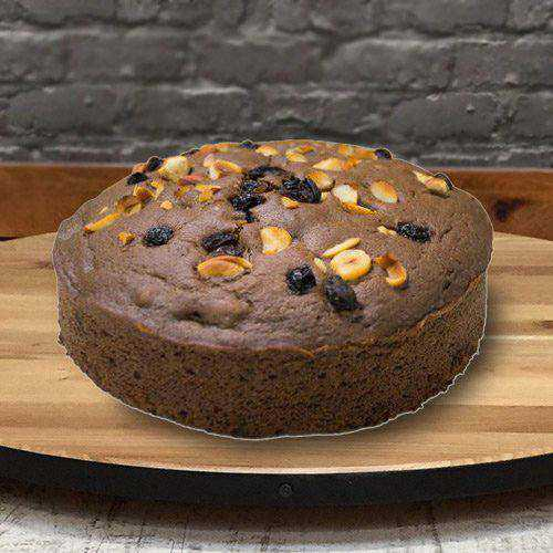 Wholesome Treat of 2.2 Lbs Fresh Baked Eggless Cake from 3/4 Star Bakery