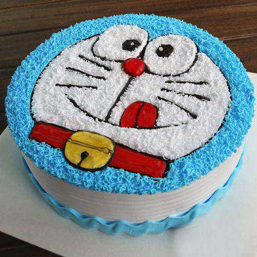 Exceptional Doremon Cake for Youngster