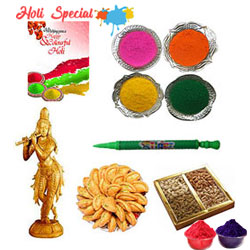 Play Holi with Lord Krishna Gift Hamper