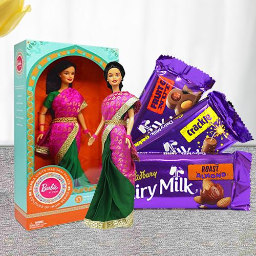 Marvelous Barbie and Cadbury Chocolates