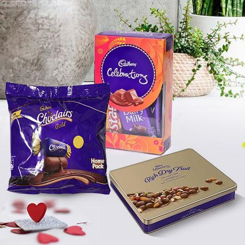 Mouth-Watering Cadbury Deluxe Chocolate Hamper
