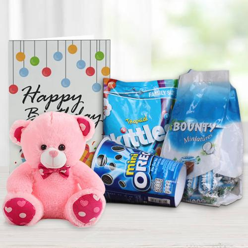 Delightful Chocolates N 6in Teddy for Kids
