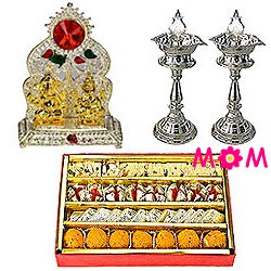 Exclusive Celebration Special Puja Hamper with Sweets