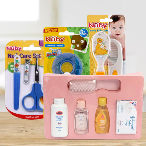 Exclusive Johnson Baby Care Hamper