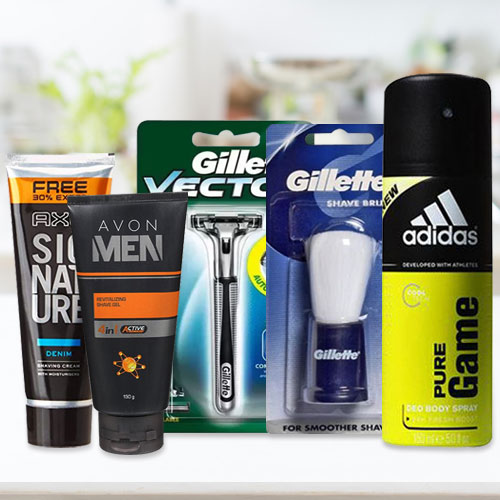 Dazzling Shaving Combo Pack for Gents