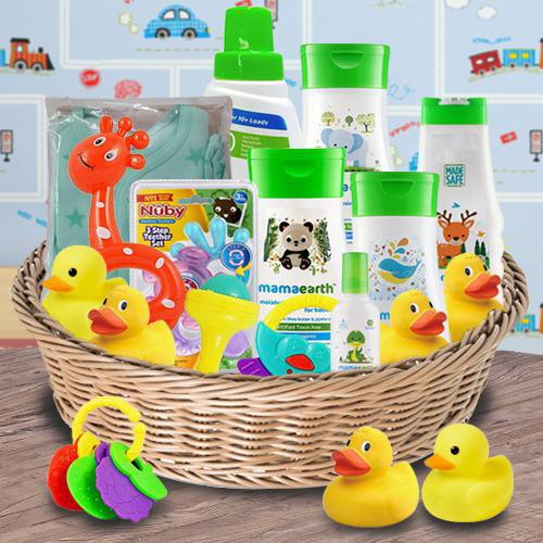 Stunning Gift Hamper for New Babies