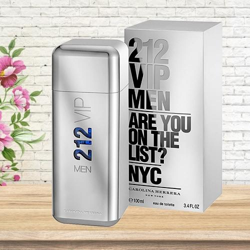 Exciting Gift of Carolina Herrera 212 VIP Eau de Toilette for Him