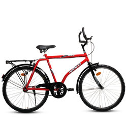 Ready-for-Action BSA AXN DX Hercules Bicycle