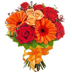 Flower Bouquet of Rose, Carnation  N  Gerbera