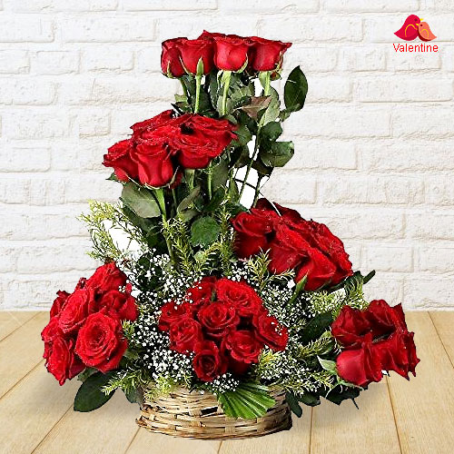 Constant Fervency Valentine�s Day Rose Assortment