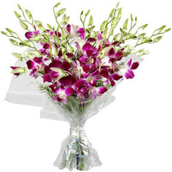 Fabulous Purple Orchids Bouquet