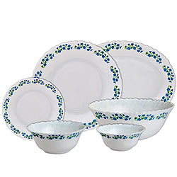 Dining Time with La Opala Diva 27 pcs Dinner Set
