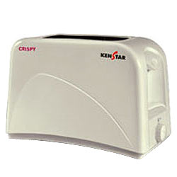 Outstanding White Toaster with 750W