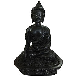 Symbolizing Raison Sitting Buddha in Earth Witness Mudra
