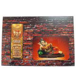 Auspicious Wall�Potrait of Lord Ganesha