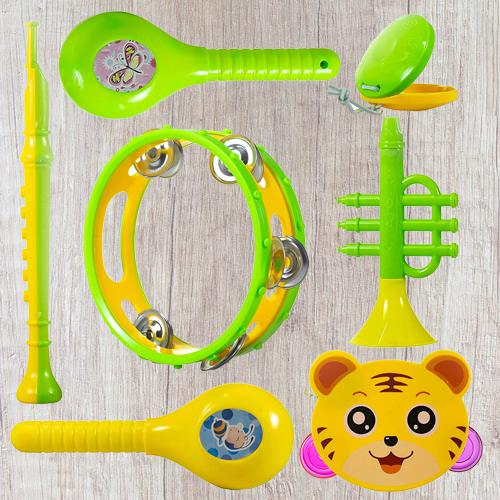 Exclusive Set of Musical Instruments Rattle for New Borns