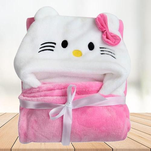 Marvelous Wrapper Baby Bath Towel for Girls