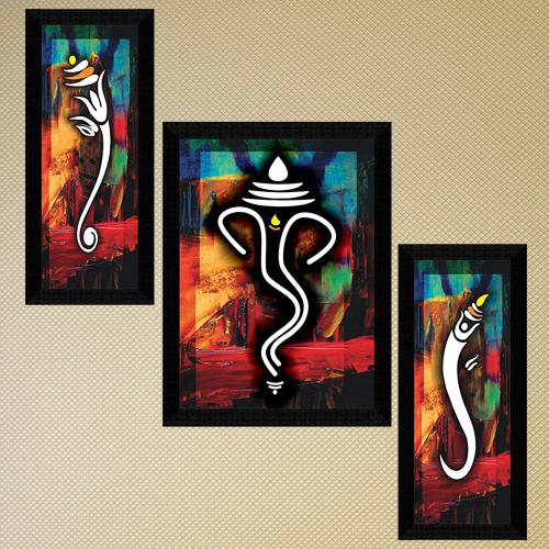 Attractive Ganesha Modern Art for Home Decor