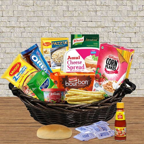Amazing Gourmet Food Gift Basket