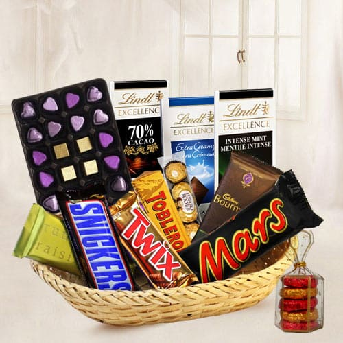 Unique Chocolate Gift Basket