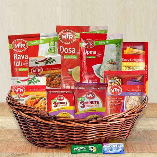 Tasty South Indian Dinner Items Hamper