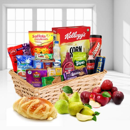 Exquisite a Little Luxury Gift Breakfast Hamper