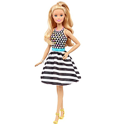 Attractive Barbie Fashionistas Doll for Baby Girl