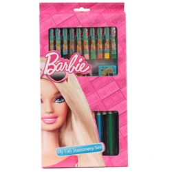 Barbie Complete Stationery Set