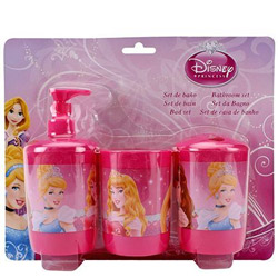 Pretty Step Out in Style with Disney Princess Bathroom Set