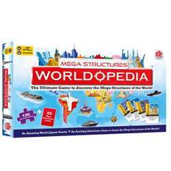 Mazmerizing Madzzle Worldopedia Megastructures from MadRat Games