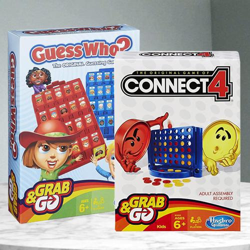 Exclusive Connect 4 N Guess Who Game from Hasbro