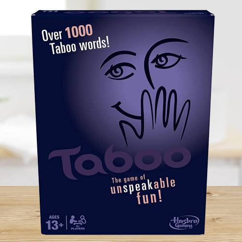 Marvelous Hasbro Gaming Taboo Board Game
