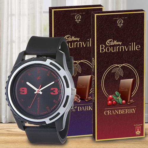 Delicious Chocolates and Watch for Boys