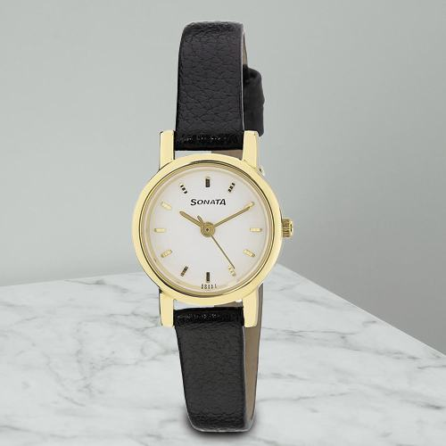 Lovely Sonata Analog Womens Watch