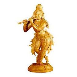 Sandalwood Lord Krishna