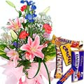 Flowers and Chocolates  to Dehradun by Dehradun Florist
