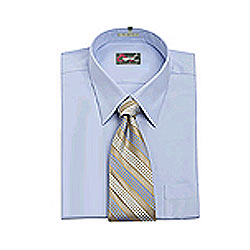 Full Sleeves Matching Shirt and  Tie from Raymonds