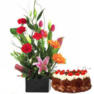 Cake to Gurgaon by Gurgaon Florist